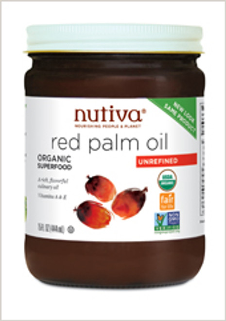 Red Palm Oil Organic, 24 oz