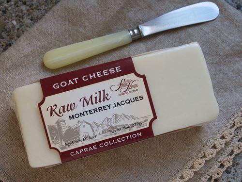 Caprae Raw Monterey Jacques Goat Cheese, 8 oz.