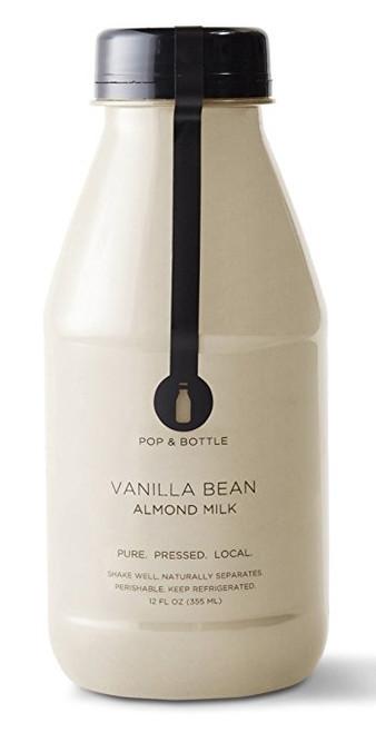 Pop & Bottle Vanilla Bean Almond Milk
