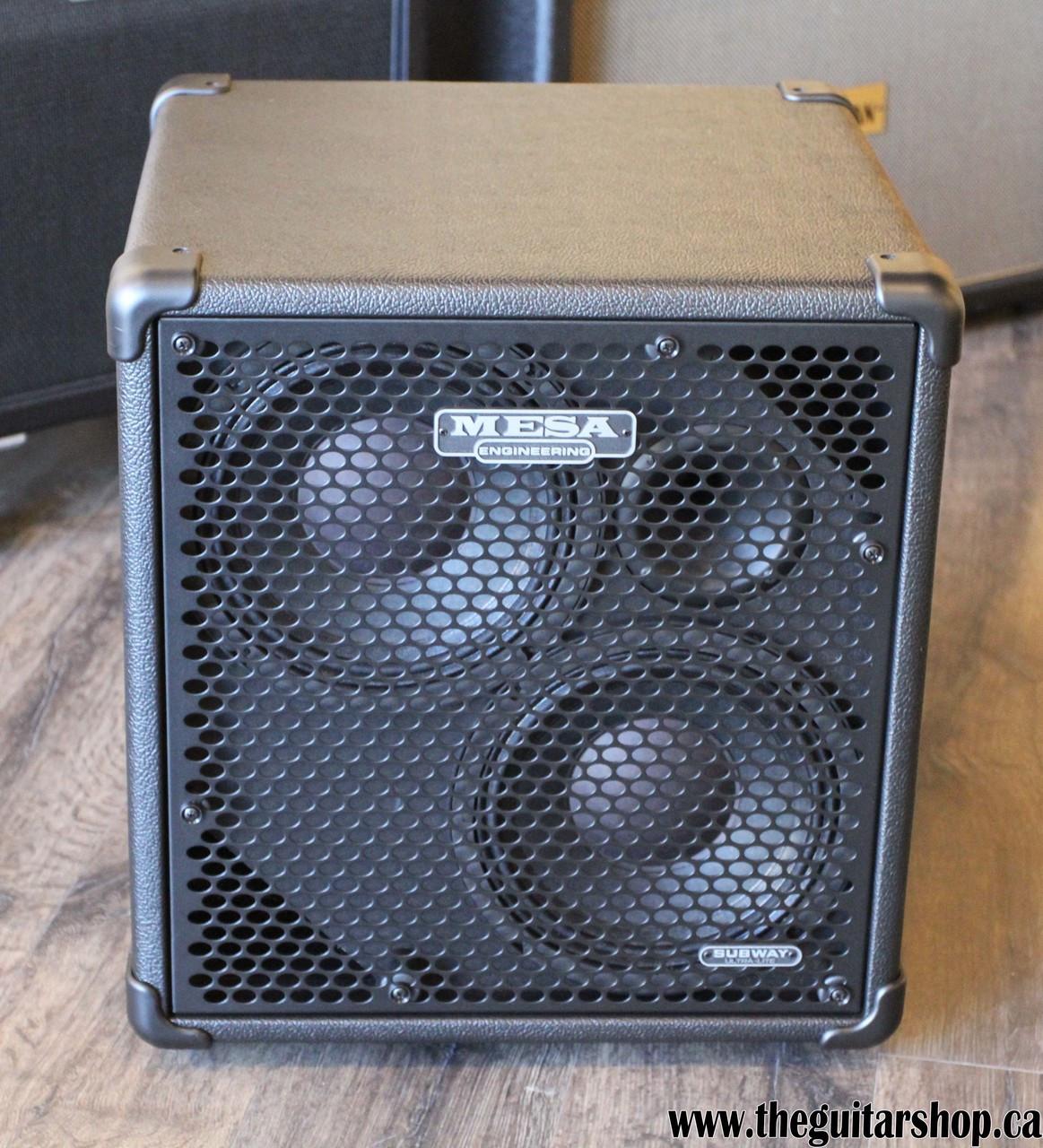 Mesa Boogie Subway Ultra-lite Bass Cabinet  2x10