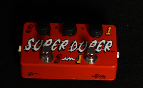 ZVEX SUPER DUPER 2 IN 1 HAND PAINTED