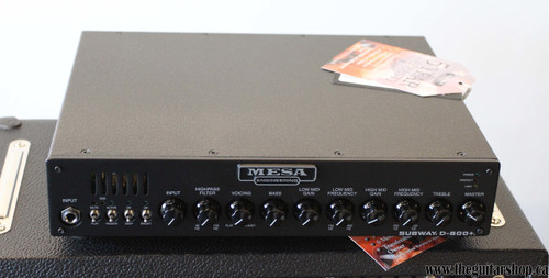 MESA BOOGIE SUBWAY D-800+ BASS HEAD