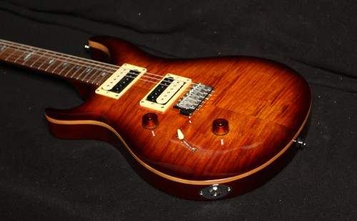 PRS SE LEFTY CUSTOM 24 TOBACCO BURST
