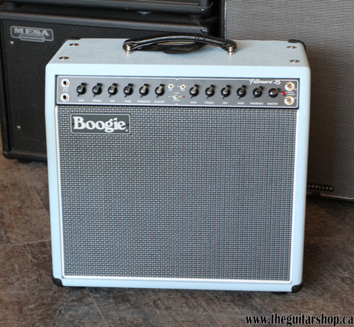 MESA BOOGIE CUSTOM FILLMORE 25 COMBO BABY BLUE WITH VINTAGE GRILLE