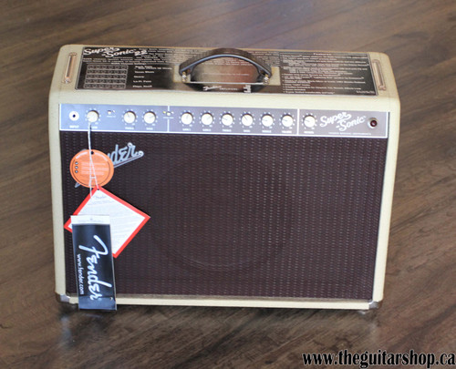USED FENDER SUPERSONIC 22 BLONDE