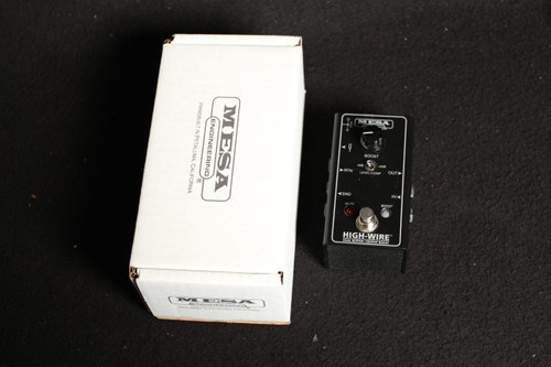 USED MESA BOOGIE HIGHWIRE BUFFER AND BOOST