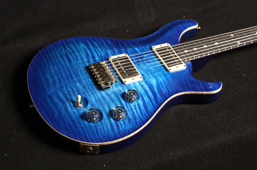 PRS DGT  SN 296568 MOON INLAYS BLUE BURST WITH IRIDESCENT PURPLE BACK