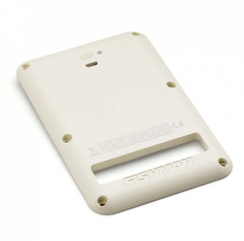 FISHMAN FLUENCE RECHARGEABLE BACKPLATE FOR STRAT WHITE