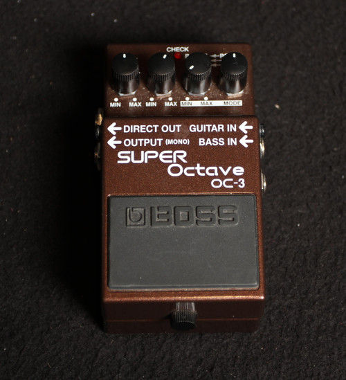 USED BOSS SUPER OCTAVE OC-3