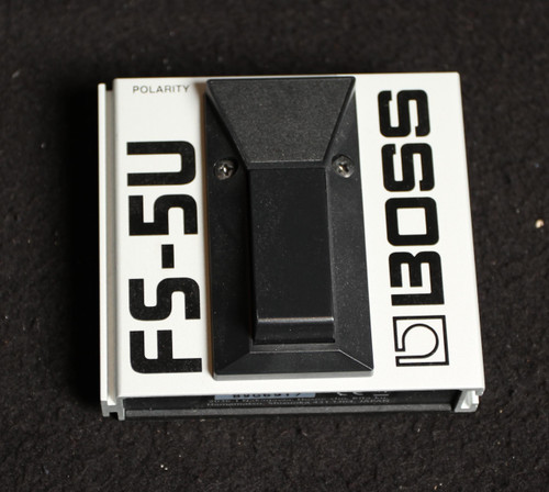 USED BOSS FS-5U MOMENTARY FOOT SWITCH