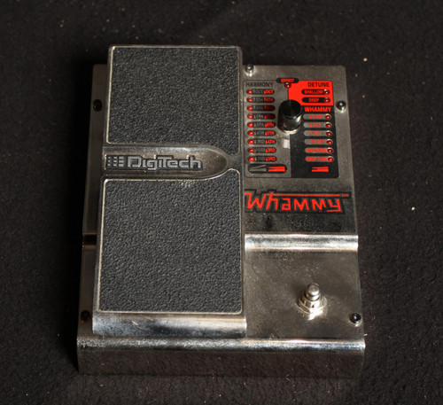 USED DIGITECH 20TH ANNIVERSARY WHAMMY PEDAL WITH POWER SUPPLY