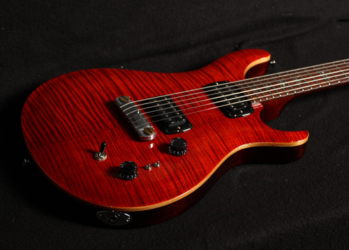 PRS SE PAULS GUITAR FIRE RED