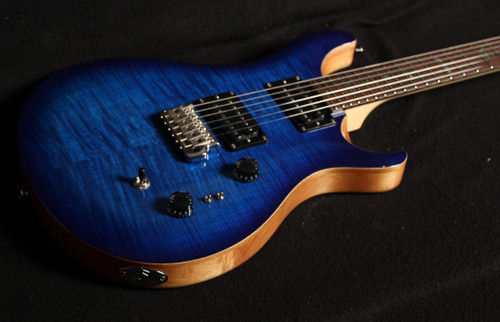 PRS SE CUSTOM 24 35th ANNIVERSARY MODEL FADED BLUE BURST