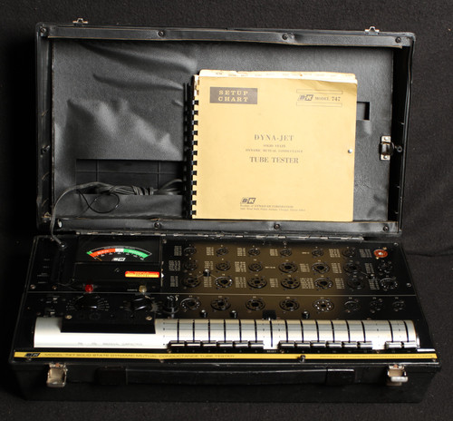 USED B&K 747 SOLID STATE TUBE TESTER
