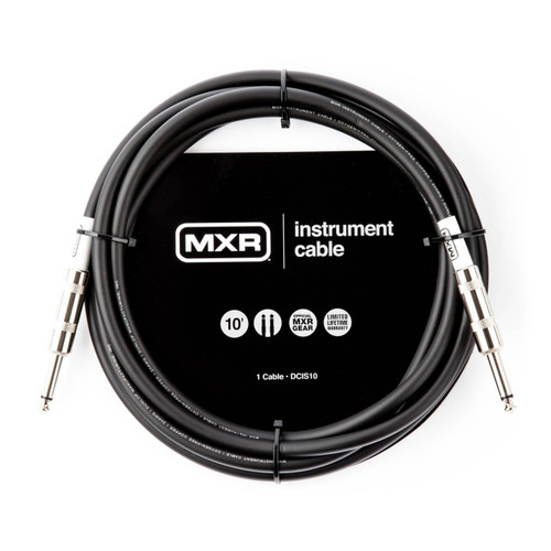 MXR 10 FOOT STRAIGHT TO STRAIGHT JACK CABLE DCIS10