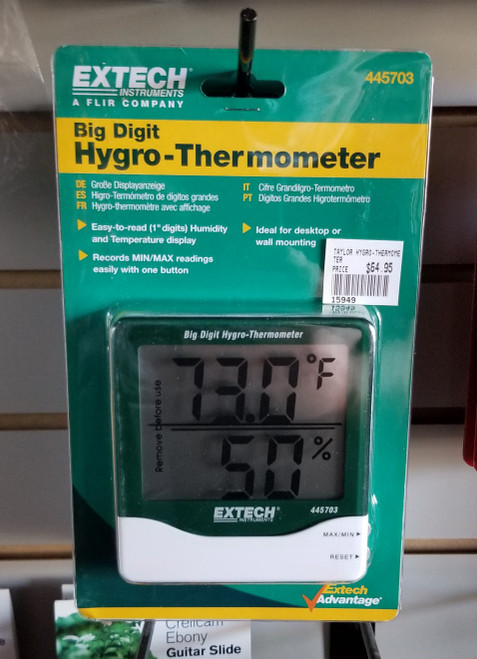 EXTECH BIG DIGIT HYDRO-THERMOMETER