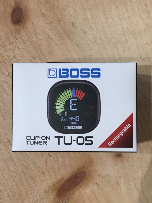 BOSS TU-05 RECHARGEABLE TUNER