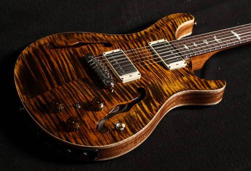 PRS  HOLLOWBODY II  PIEZO SN 318720 YELLOW TIGER