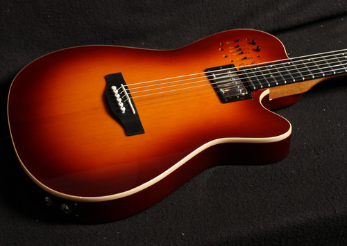 GODIN A6 Ultra Cognac Burst HG SF with Bag