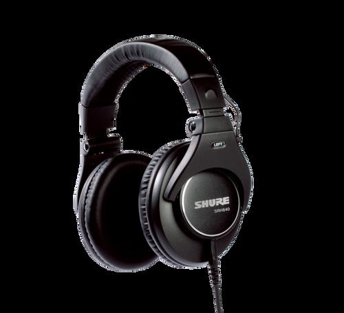 Shure SRH840 - Closed-Back Pro Monitor Headphones