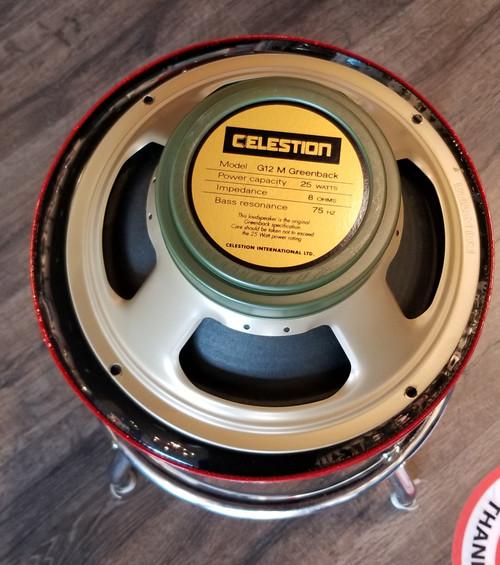 USED CELESTION G12 M GREENBACK