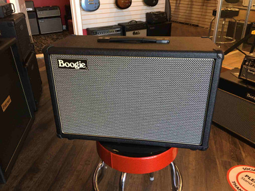 CUSTOM MESA BOOGIE FILLMORE 23 1X12 CABINET BLACK BRONCO WITH GREY BLACK GRILLE