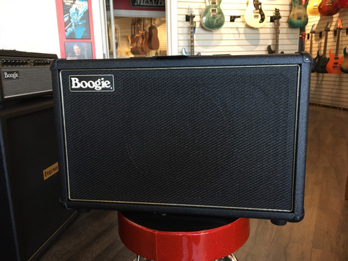 CUSTOM MESA BOOGIE FILLMORE 23 1X12 CABINET BLACK BRONCO WITH BLACK GRILLE
