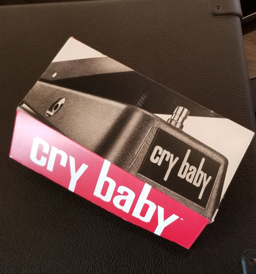 USED DUNLOP CRY BABY WAH PEDAL