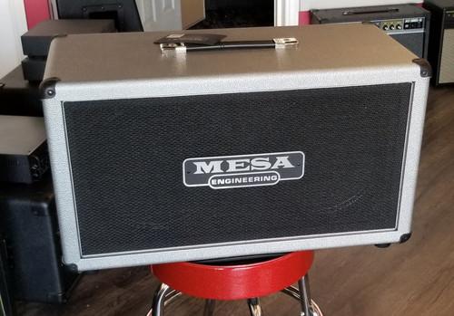 MESA BOOGIE 2X12 RECTIFIER COMPACT CAB SILVER BRONCO