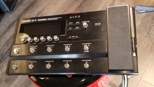 USED BOSS GT-1000 GUITAR EFFECTS PROCESSOR