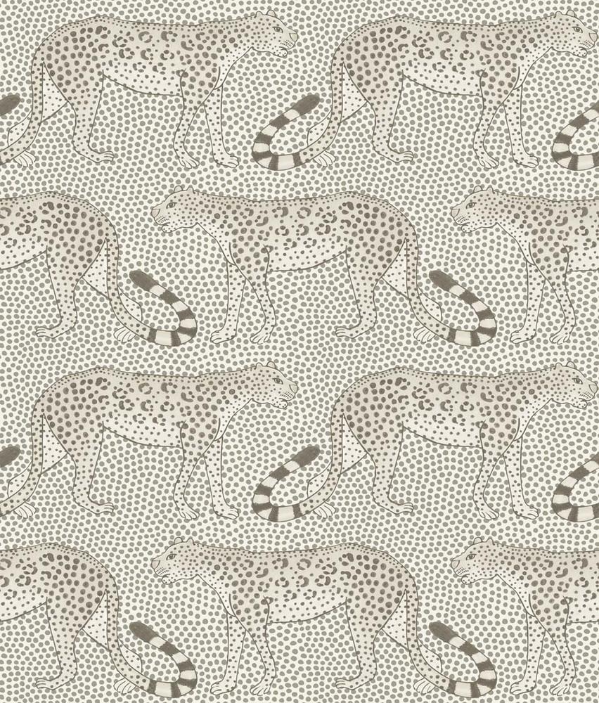 Leopard Walk - Black / White