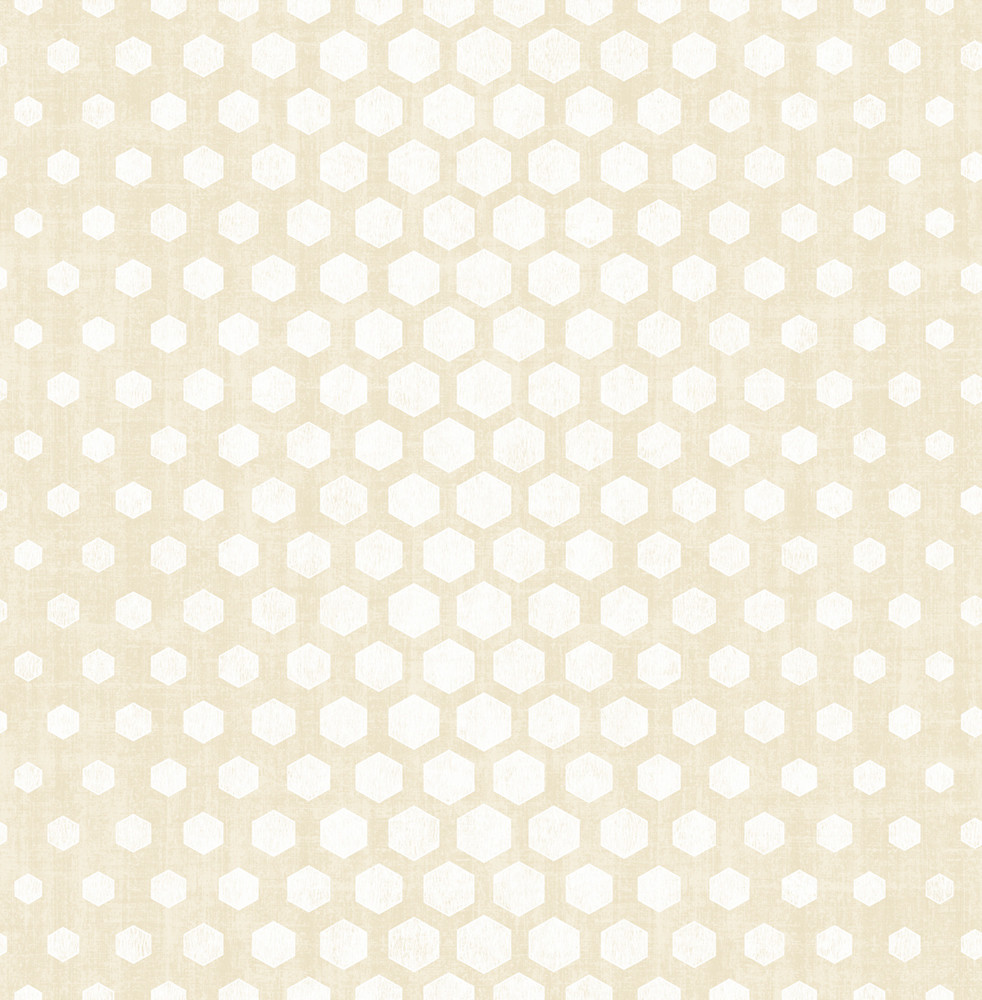 Hexagon Ombre - Soft Gold