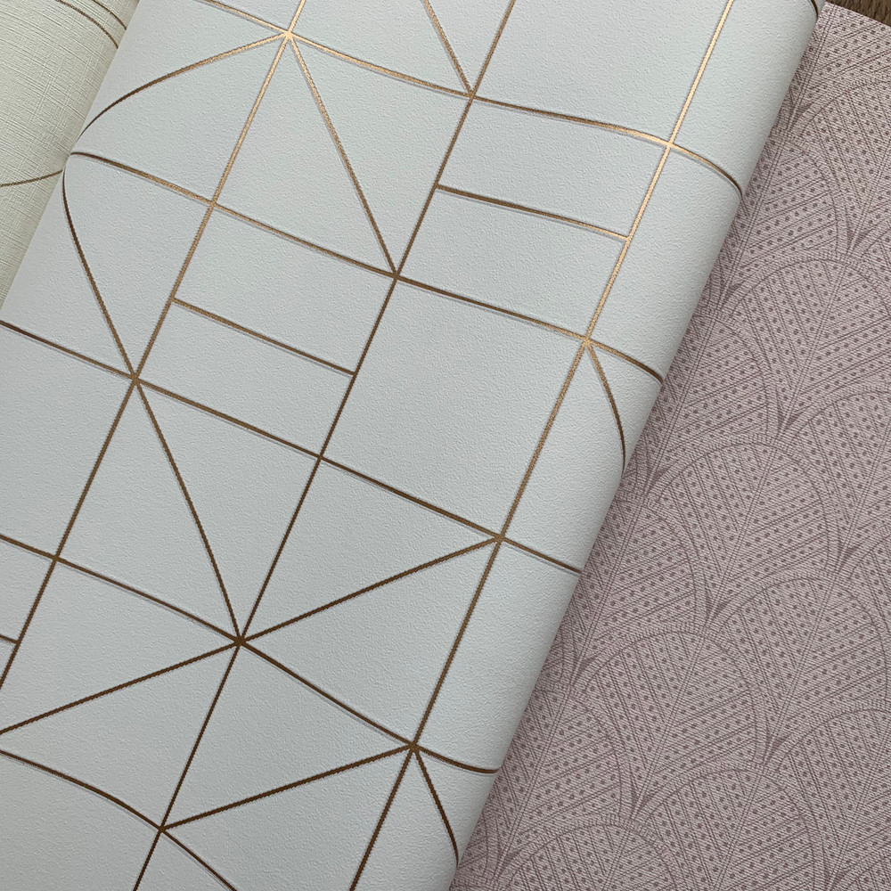 Tile Deco - Off White / Gold