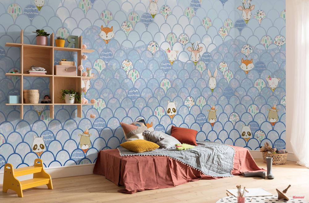 Mural - Shelley Blue (5.0m X 2.5m)