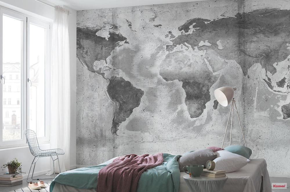 MURAL - CONCRETE WORLD (5.0m x 2.5m)