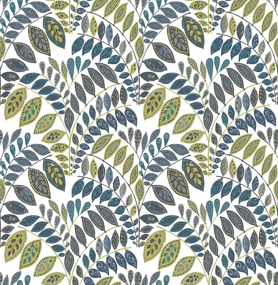 Fiddleheads - Blue / Green