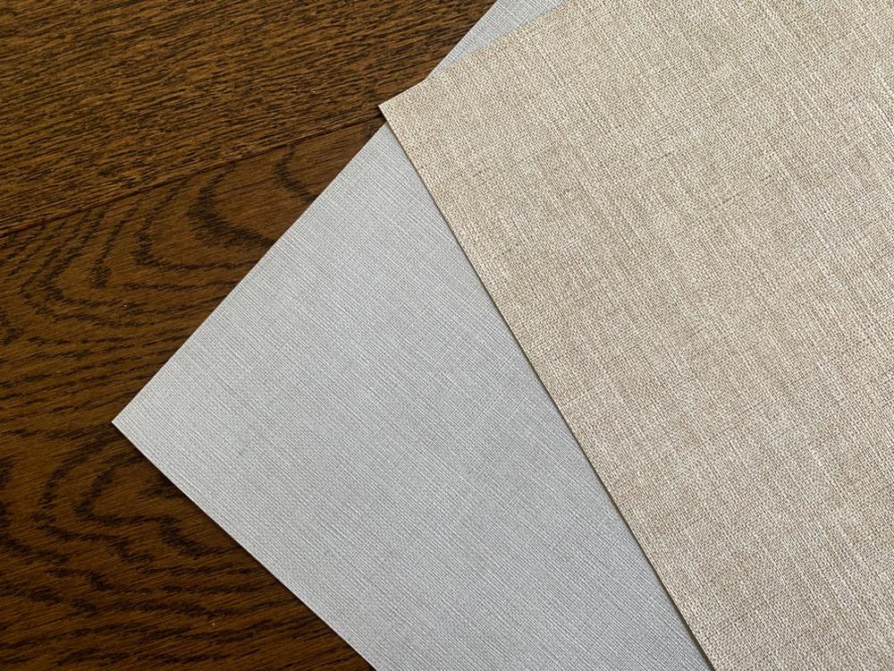 Vinyl Linen - Honey Beige