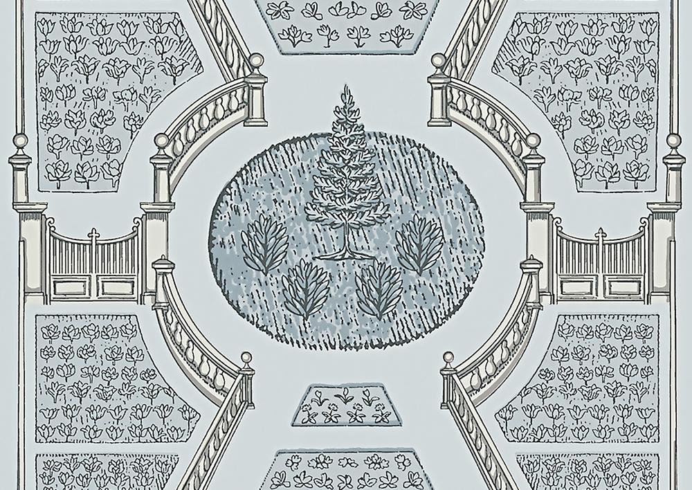 AERIAL GARDEN - SPA BLUE