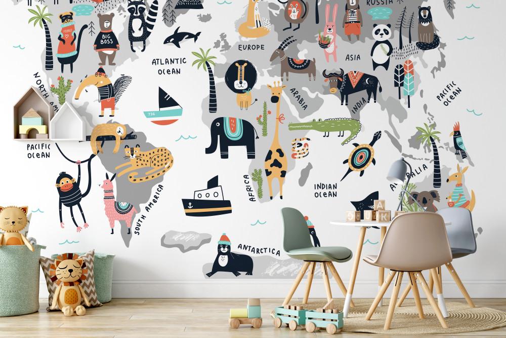 Mural - Animal World