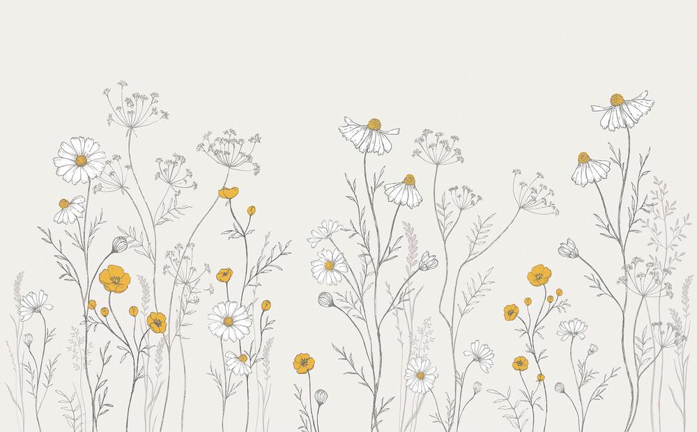 Mural - Through The Fields (4m X 2.48m)
