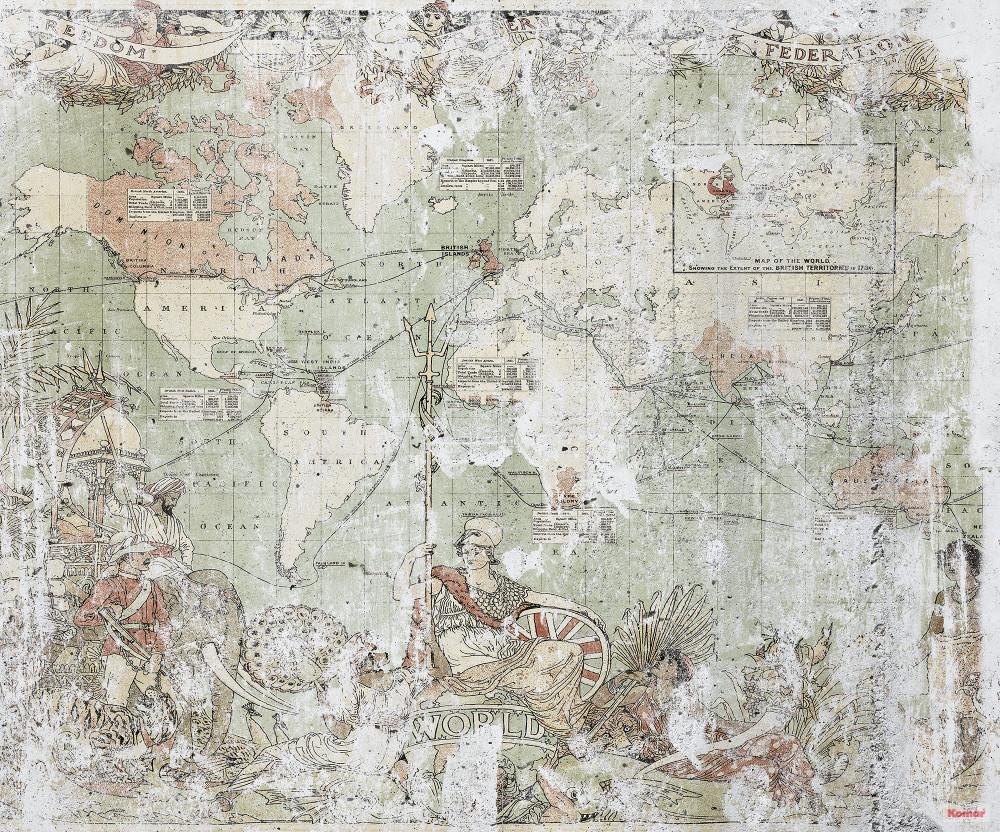 Mural - British Empire (3.0m X 2.5m)