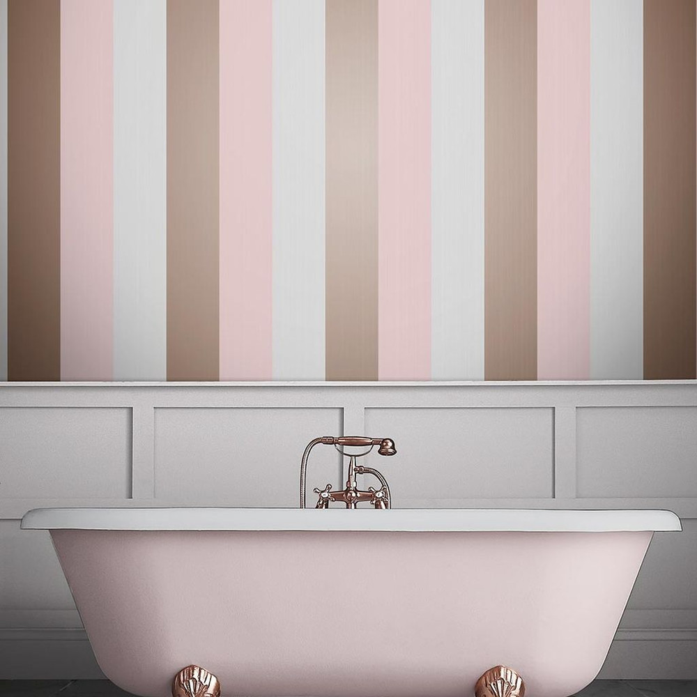 FIGARO - BLUSH PINK WALLPAPER