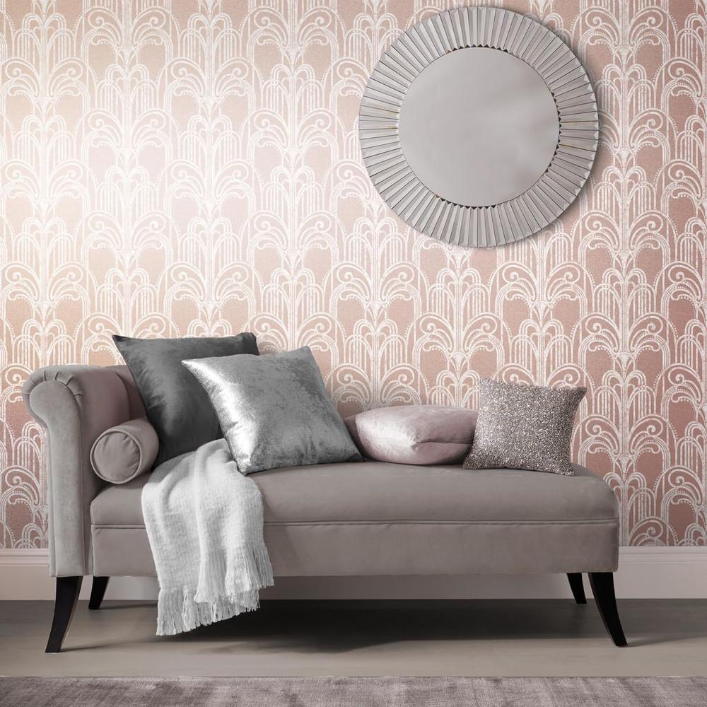 Art Deco - Rose Gold