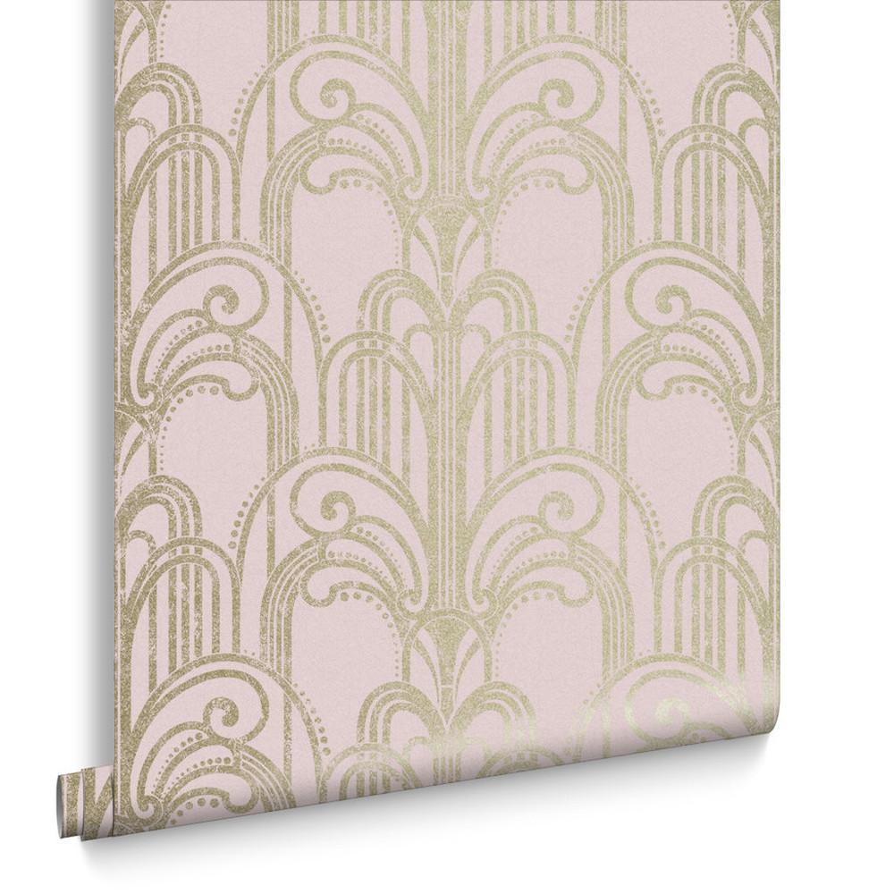 Art Deco - Blush Pink