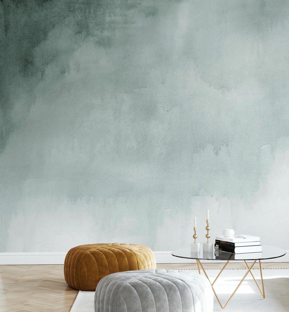 Mural - Watercolour Green (Per Sqm)