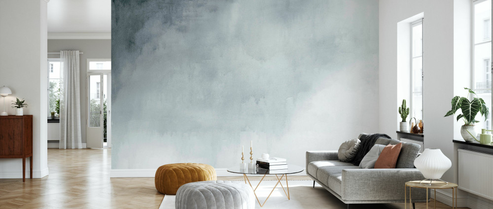 Mural - Watercolour Grey (Per Sqm)