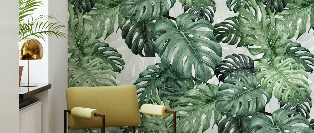 Mural - Botany Monstera (Per Sqm)