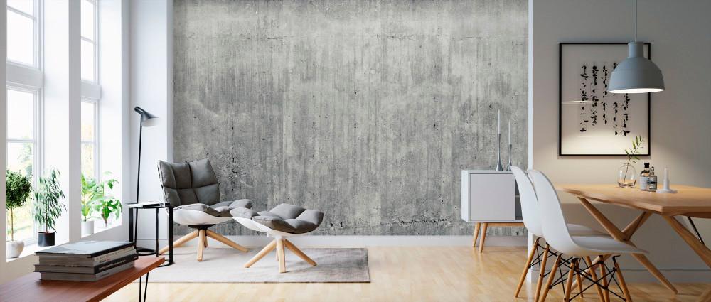 Mural - Grunge Concrete Wall (Per Sqm)