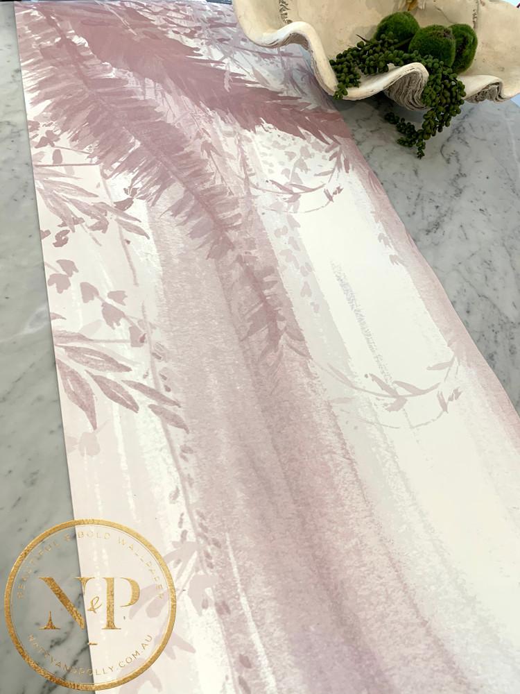 Mural - Trees Pink (Per Sqm)