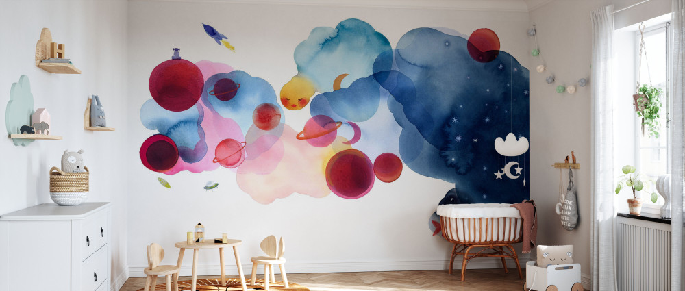 Mural - Water Colour Space (Per Sqm)